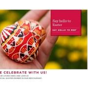 Ramada Parc & Plaza vă propune un Paște tradițional!