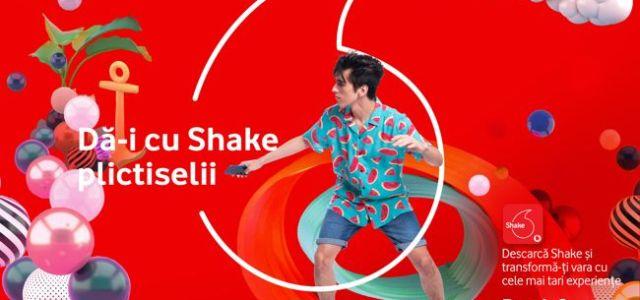Vodafone Shake transforma distractia zilnica in momente wow