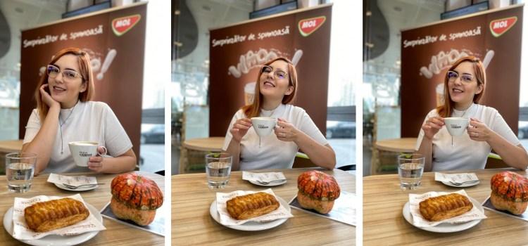 Interviu la cafea – Aleka Sarah: Cappuccino este bautura cea mai balansata intre aroma cafelei si dulceata laptelui