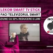 Telekom Romania lansează Smart TV Stick, abonament mobil cu 50% reducere și telefoane în rate