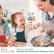 Nestle România luptă împotriva obezității infantile și se alătură programului Traista cu Sănătate