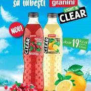 Granini lansează gama Light'n Clear cu un conținut scăzut de zahăr