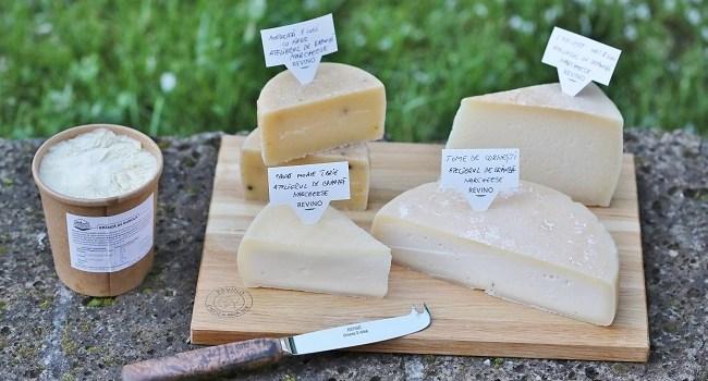 Revino a lansat harta producătorilor locali de brânzeturi