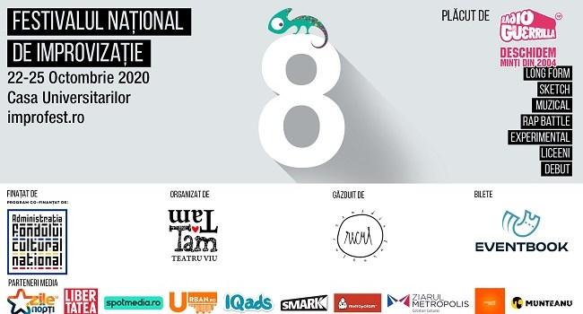 Festivalul National de Improvizatie revine intre 22-25 octombrie la Bucuresti!