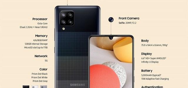 Samsung lansează noul Galaxy A42 5G, cel mai accesibil smartphone 5G de până acum