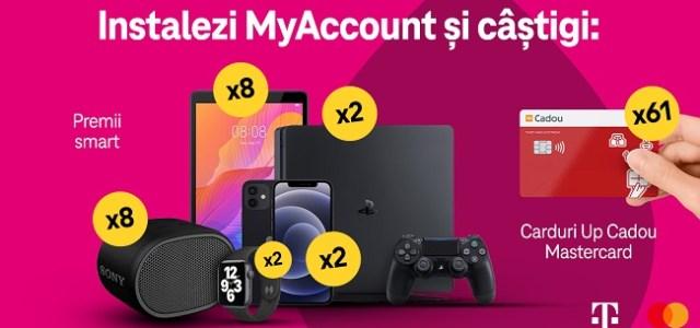 Telekom Romania lanseaza o noua campanie care premiaza utilizatorii MyAccount
