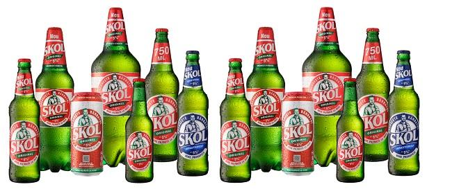 Relansarea berii Skol – un nou lichid imbatabil în segment