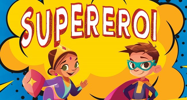 Cartea Noilor SuperEroi DPH – 20 de mici autori ai unei cărți cu superputeri