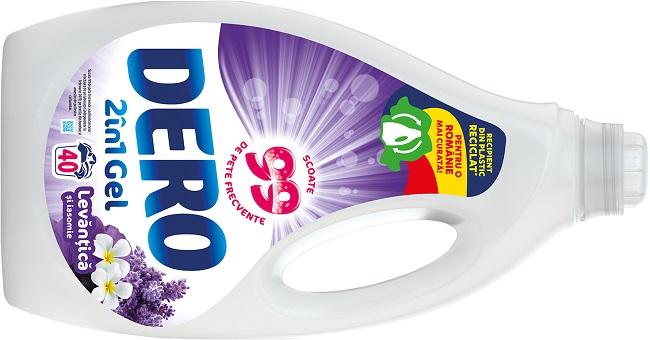 Unilever introduce pe piata sticla eco-friendly pentru detergentul lichid DERO