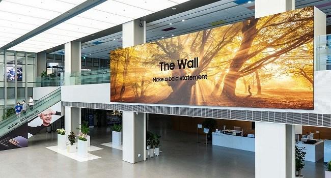 Samsung The Wall 2021 este acum disponibil la nivel mondial