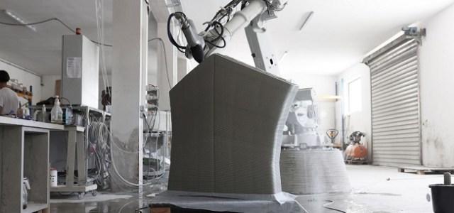Cum arată primul pod pietonal din lume construit cu beton printat 3D!