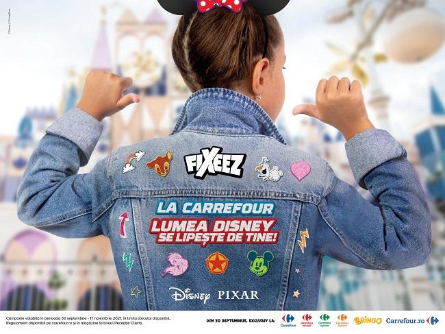 Carrefour aduce poveștile și personajele Disney mai aproape de fiecare