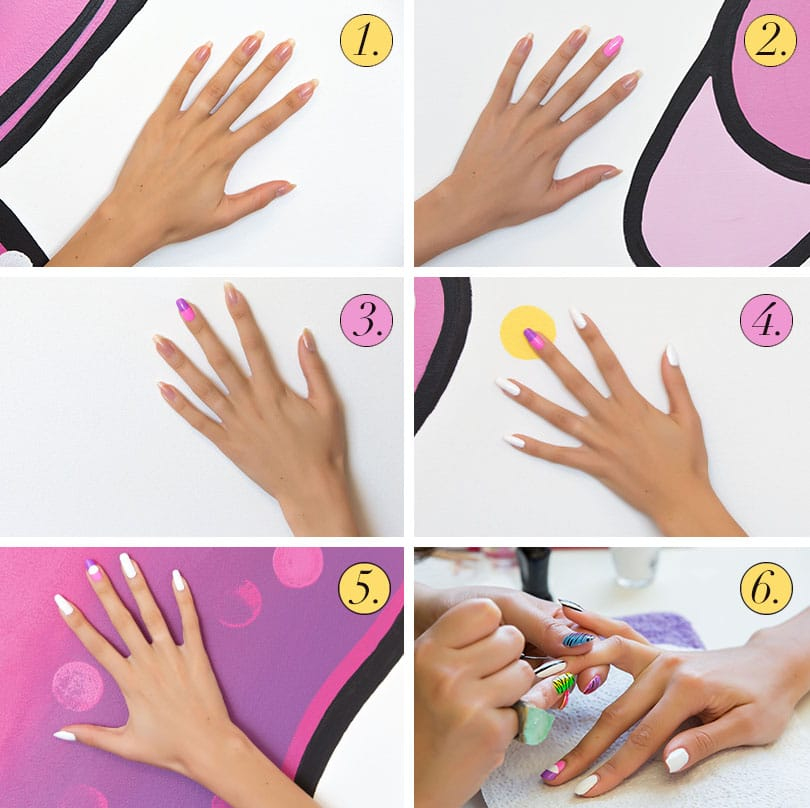 Make Nail Art At Home Ideas