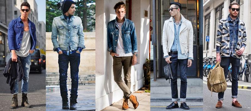 Menswear Denim Trends