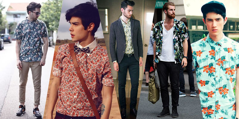 floral tops street style 2014