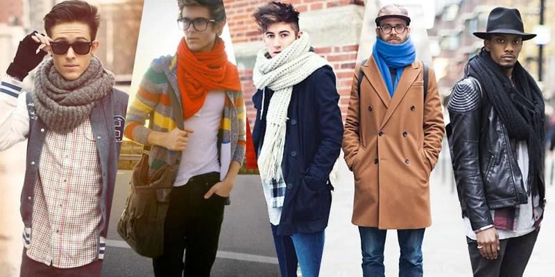 Scarves for Men | Street Style Trend Inspiration