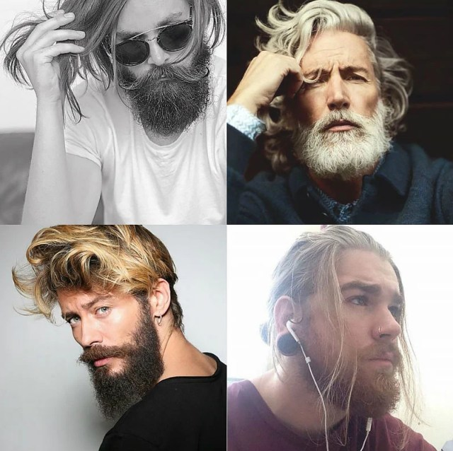 Messy Hair & Beard