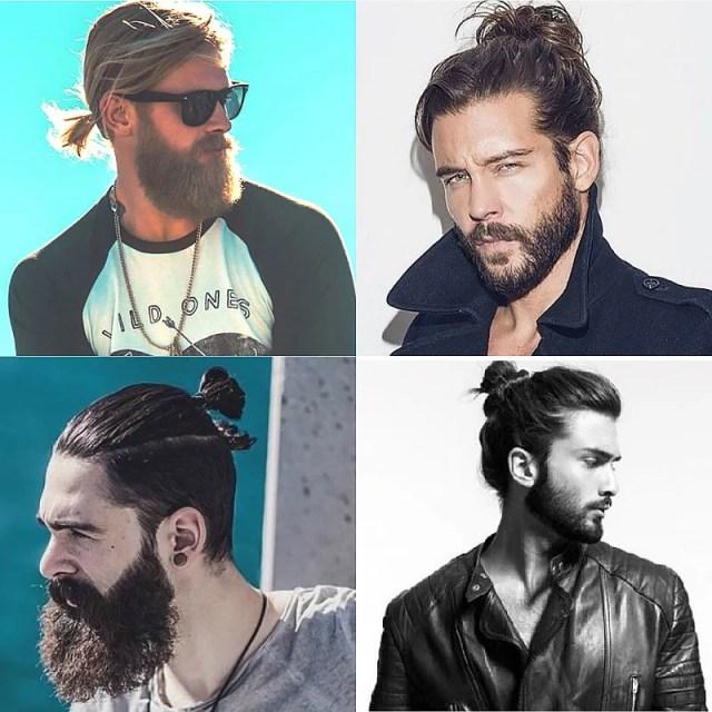 The Man Bun & Beards
