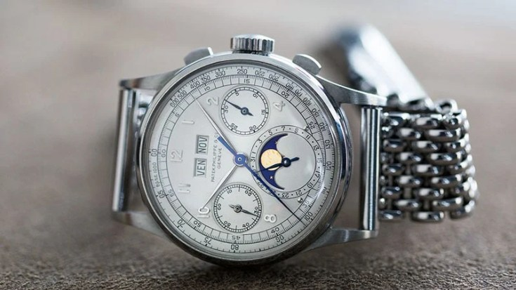 Patek Philippe Ref. 1518 in Stainless Steel Top 10 most expensive watches in The world just info check