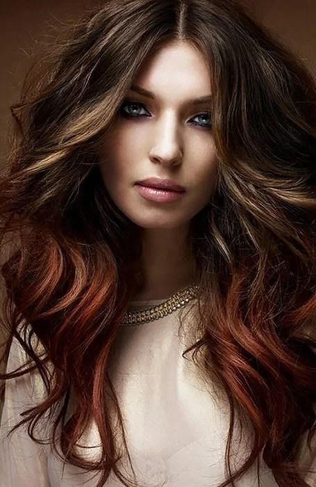 Chocolate Light Brown Hair