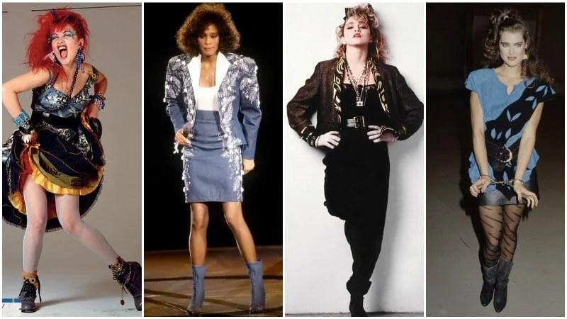 80's Celebrity Fashion