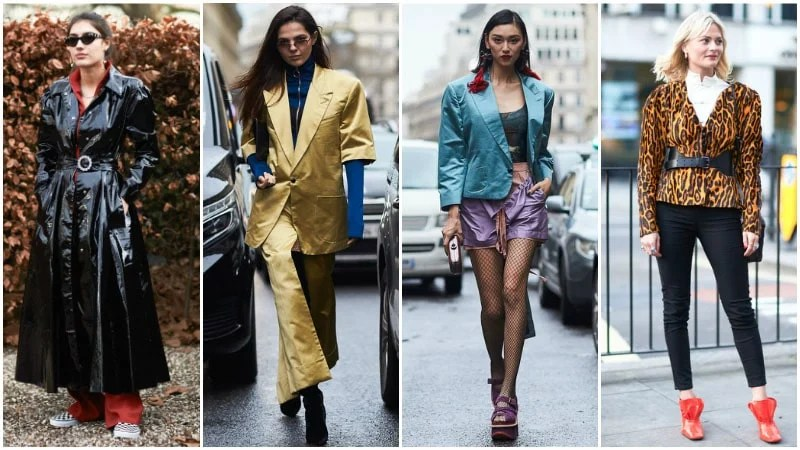Big Shoulders 80s Fashion Trend