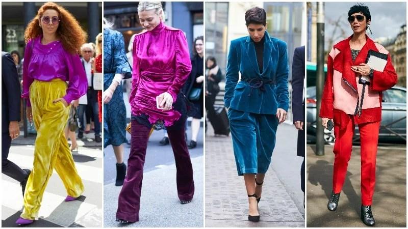 Bold Colours 80's Fashion Trend