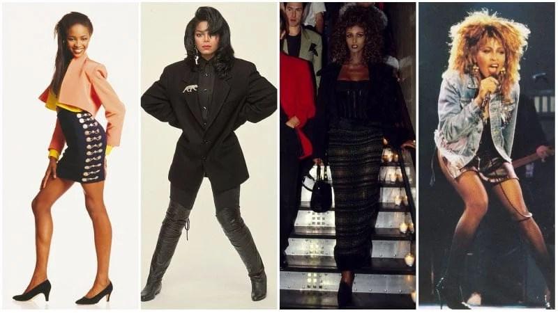 80s Black Fashion