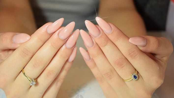 Long Almond Shaped Nails