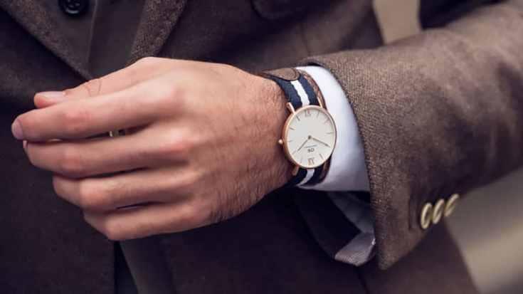 Small wrist watch