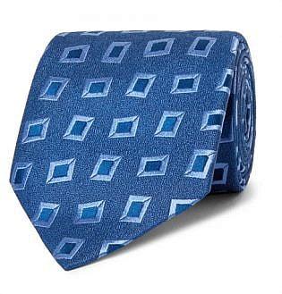 8.5cm Silk Jacquard Tie