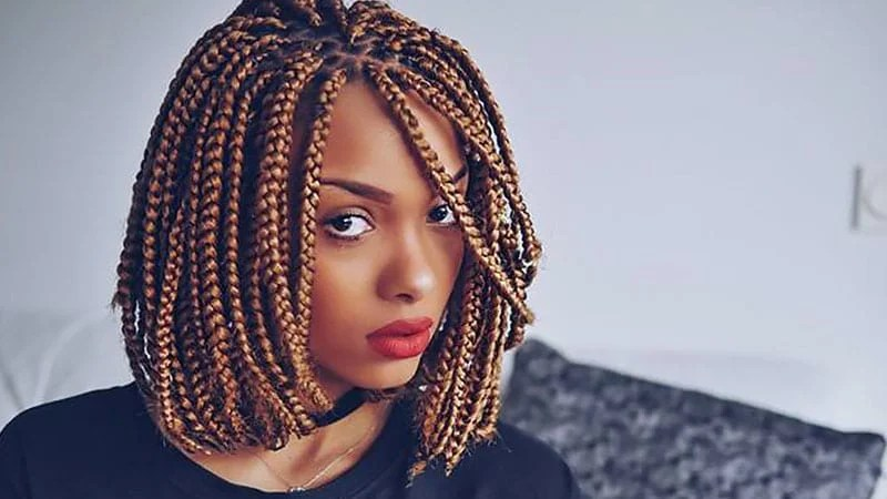 The Coolest Box Braids Hairstyles You Need To Try The Trend Spotter