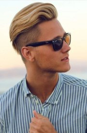 sexy blonde hairstyles men