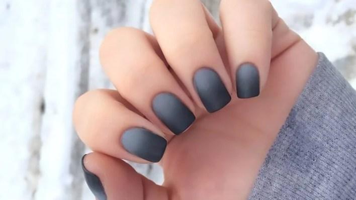 Dark Matte Ombre Grey