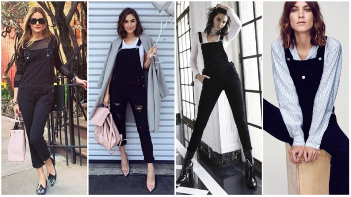 Black Overalls Outfits