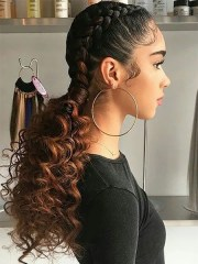 sexy goddess braids hairstyles