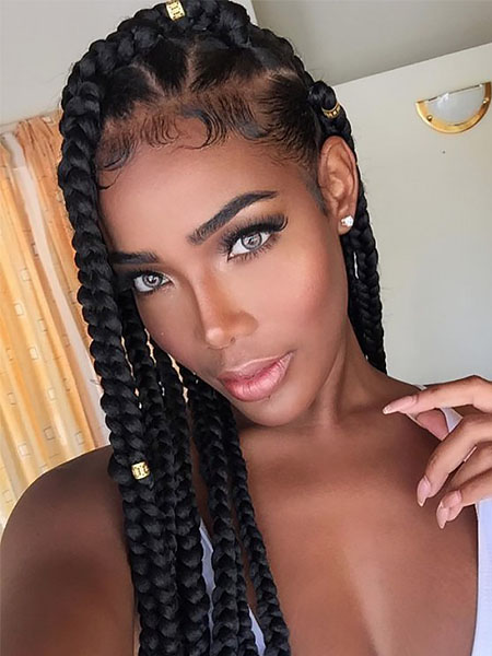 30 Sexy Goddess Braids Hairstyles You Will Love  The Trend Spotter
