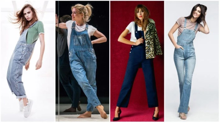 Overalls With T Shirt