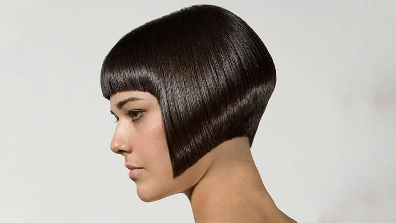 Kraća slojevita paž/bob frizura za ravnu kosu