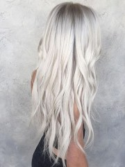 silver hair colour ideas