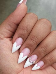 sassy stiletto nails