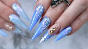 sassy stiletto nails