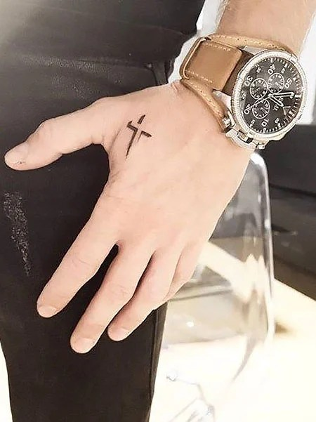 Hand Tattoos For Men Small