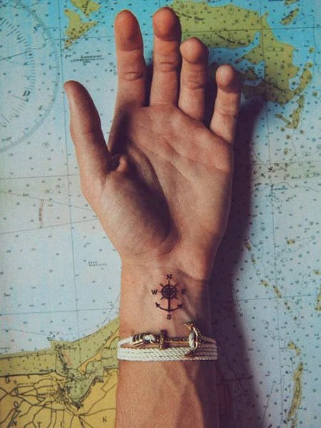 Simple Attractive Small Hand Tattoos For Men