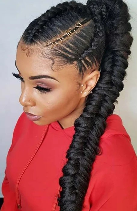 25 Classy Ponytail Hairstyles For Women In 2020 The Trend Spotter