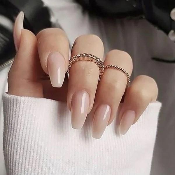 pic Elegant Neutral Nail Designs 18 beautiful ombre nail design ideas