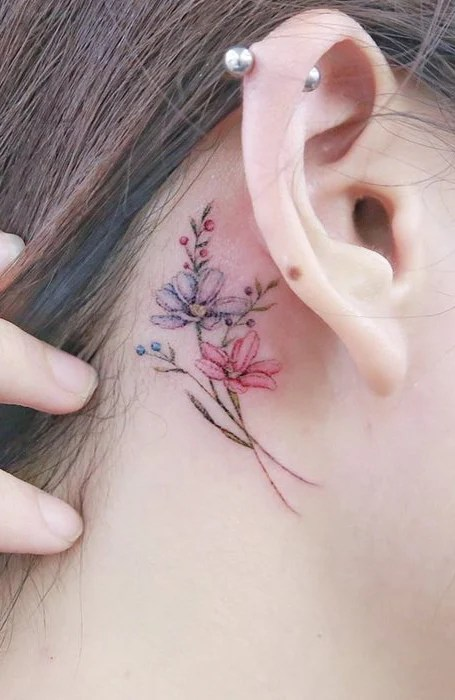 Small Flower Tattoo