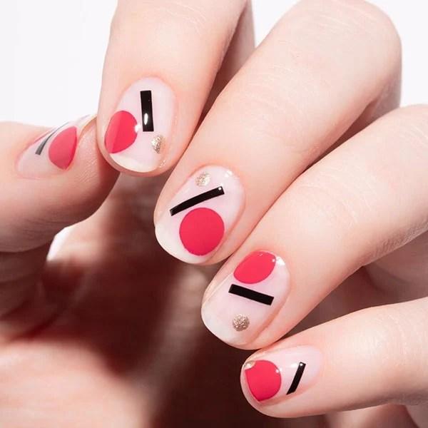 Cubism Nail Art Design