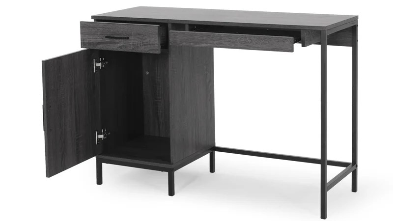 Gallaudet Contemporary Faux Wood Computer Desk By Christopher Knight Home