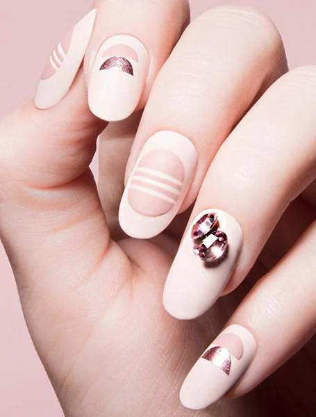 White Design With Diamonds